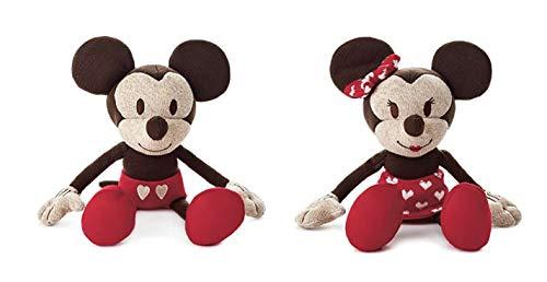 Sweetheart Mickey and Minnie Mouse Stuffed Animal, 8