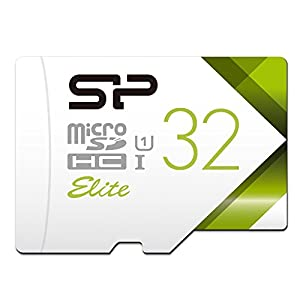 Silicon Power-32GB High Speed MicroSD Card with Adapter