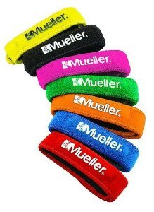 Mueller Jumper's Knee Strap, Black, 1 (Uniform Outlet Store)