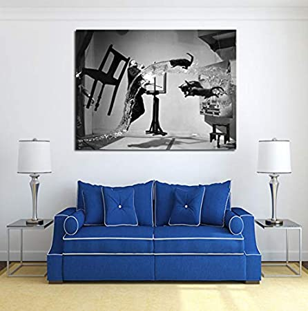 Qingrenjie Famous Painter Artwork Uli Hesse Is Pinterest Canvas Painting Print Living Room Home Decor Modern Wall Art Oil Painting Poster Pictures 50 70 Cm Without Frame Amazon Co Uk Kitchen Home