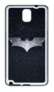 Creative Batman The Dark Knight TPU Silicone Case Cover for Samsung Galaxy Note 3 N9000 White