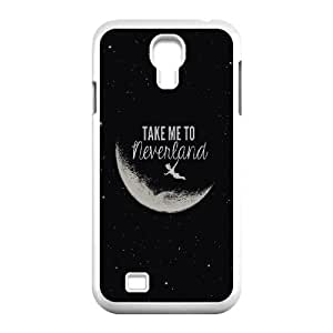 High Quality Phone Back Case Pattern Design 20Never Grow Up Boy PETER PAN Design- For SamSung Galaxy S4 Case