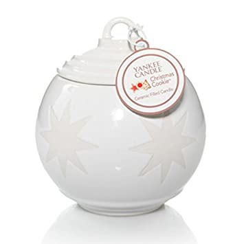 Image Unavailable - Amazon.com: Yankee Candle 7oz Ceramic Ornament Candle - Christmas