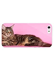 3d Full Wrap Case for iPhone 5/5s Animal Cute Cat35