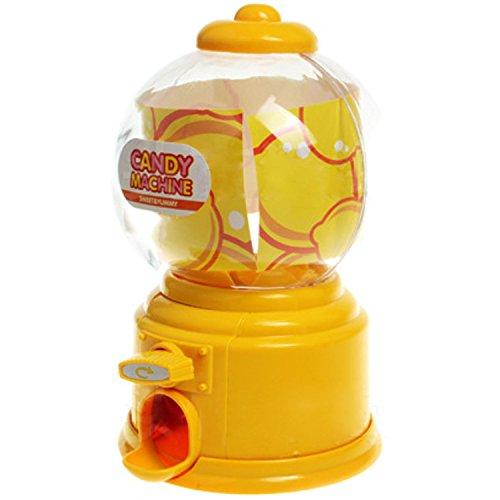 Gosear Mini Máquina Expendedora de Habas de Jalea Chicles Gomitas Azúcar Caramelo de Gumball/Dispensador de Snack para...