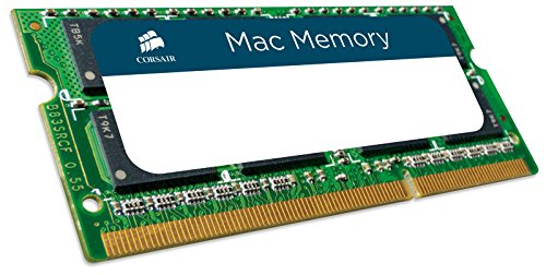 Corsair Mac Memory 2-Pack 8GB 1.3GHz DDR3 SoDIMM Memory Kit Multi CMSA16GX3M2A1333C9