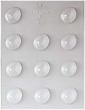 Paderno World Cuisine 11 Imprint 1-1/2-Inch Polypropylene Chocolate Mold, Walnut