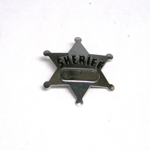 Fun Express Metal Sheriff's Badges 4 dozen