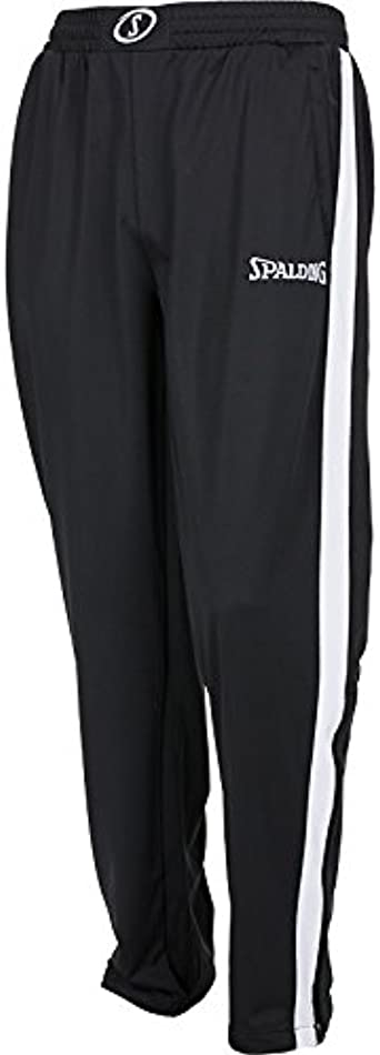 L Spalding Men Evolution II Classic Pants Mens Pants Black//White