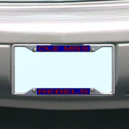 (NCAA Ole Miss Rebels License Plate)