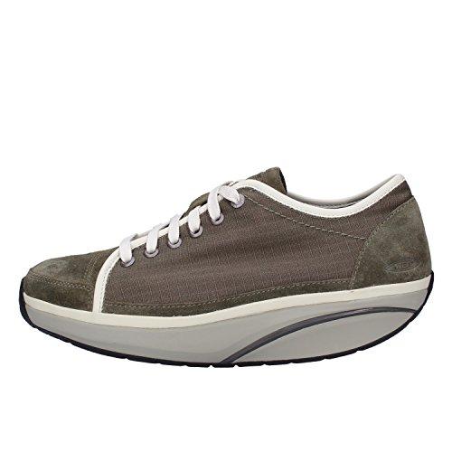 MBT Sneakers Mujer Textil Gamuza (38 EU, Verde)
