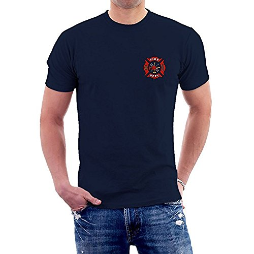 (Fire Fighter Department Rescue T-Shirts (Small))