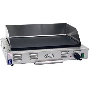 Cadco CG 10 Countertop 120 Volt Electric Griddle