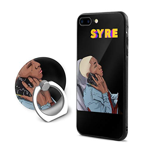 Lemonationop Syre Jaden Smith Cell Phone Case for iPhone 7/8 Plus with Ring Bracket Black One Size (Jaden Smith Case)