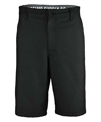 Mens Mossimo Supply Shorts in Black - Belt Mossimo Black