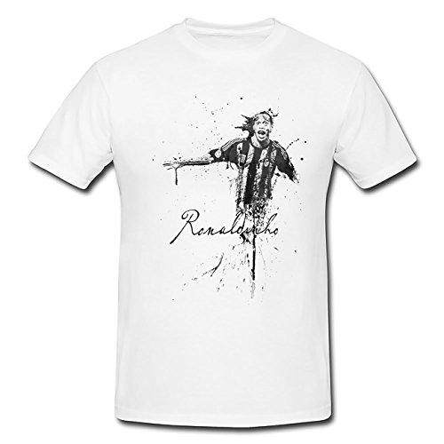 Ronaldinho-III T-Shirt Herren, Men mit stylischen Motiv von Paul Sinus