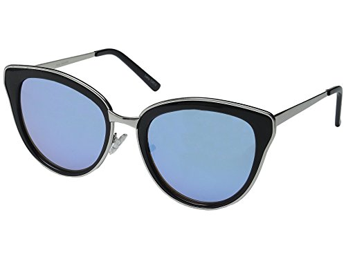 Quay Women's Every Little Thing Sunglasses, Black/Lilac Mirror, One - Glasses Wild Thing