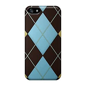 Personality customization Durable Case For The Iphone 5/5s- Eco-friendly (argyle) At PLUS6A case