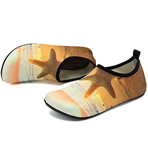 Pool for Quick Yoga Exercise Aqua VIFUUR Unisex Beach Water Drying Beach Women Shoes Shoes Yellow Men axwHwY