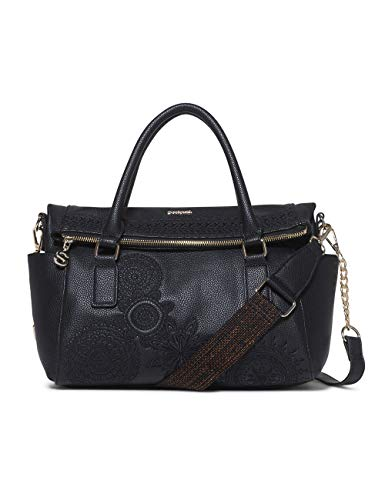 Sacs Dark Amber Noir Bag Women Desigual negro Loverty Menotte wvq5zX0xE