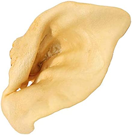 Natural Bulk Dog Dental Treats /& Pork Chews Pawstruck Pig Ears for Dogs American Made Puffed Sow Made in USA