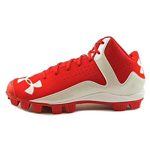 Under Armour Mens Leadoff Mid Rm Rood / Wit