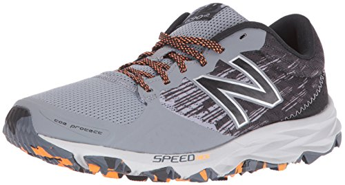 New Balance Men's mt690v2 Trail Running Shoes, Grey/Black, 10.5 4E US MT690LG2