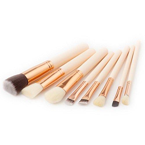 Foundation Eye Makeup Brush, OVERMA New 8Pcs Pencil shadow Makeup Brushes Eyeliner Brush (Makeup Brushes Eld)