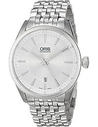 Men's 73376424031MB Artix Analog Display Swiss Automatic Silver Watch