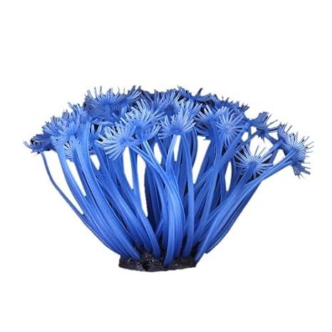 SH188 Artificial Falso Coral Para La Decoracion De Tanque Pecera Azul: Amazon.es: Hogar