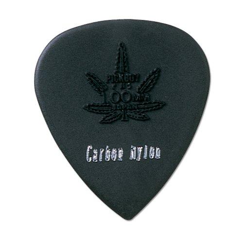 Pickboy Hi-Modulous, Reefer Pick, Carbon/Nylon, 1.00mm, 10 picks (Girls Guitar Picks Rock)