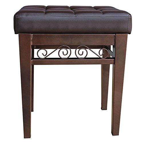 Crownroyaljack Furniture Square Piano Bench Bathroom