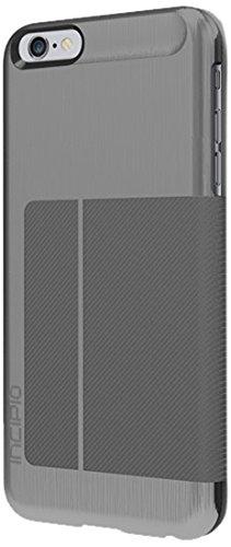 check out 0bb90 04445 iPhone 6S Plus Case, Incipio Highland Premium Folio [Credit Card] Wallet  Folio iPhone 6 Plus, iPhone 6S Plus - Gunmetal/Gray