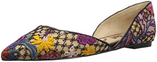 Sam Edelman Women's Rodney Ballet Flat, Bright Multi Floral Chintz lace, 6 M US