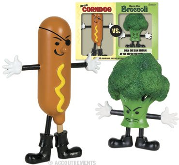 Captain Corndog Broccoli Action Playset