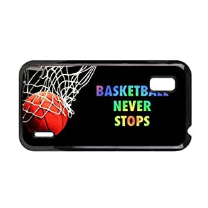 Generic Friendly Phone Cases For Kids Print With Basketball Never Stops For Lg Google Nexus 4 Choose Design 1