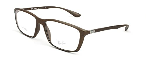 Amazon.com: Ray-Ban rx7018 Liteforce anteojos-5205 brown-55 ...