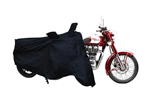 Leebo Premium Quality Bike Cover for Royal Enfield Classic 350 (Color May Vary)
