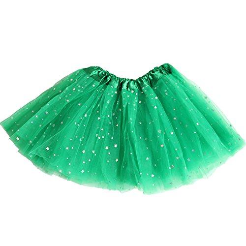 en Ballet Vert Jupe Mini Robe Femme Tutu Danse de de Tulle AMORETU Pettiskirt vx1On