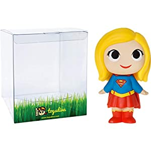 41moCvNSAXL. SS300 Supergirl: 2.7in Funko Mystery Minis Vinyl Figure Bundle with 1 Compatible 'ToysDiva' Graphic Protector (11346 - B)