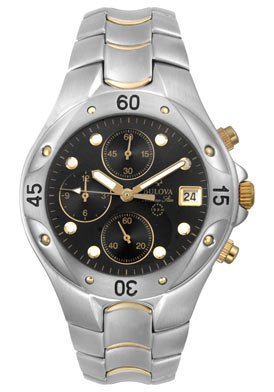 Bulova Men's Quartz Watch 98G86 (Marine Collection Star Bulova)