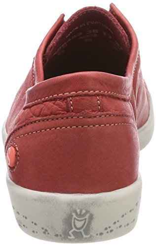 Washed Women''s Softinos Ini453sof Loafers Red q4gvPEa6