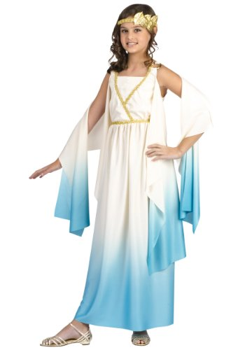 Kids Greek Goddess Costumes (Fun World unisex Girls' Greek Goddess Costume X-Large (14-16))
