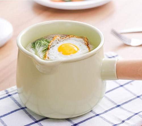 HQQ Complément Alimentaire pour bébé Pot en céramique Petit Pot à Lait Casserole à Induction Hot Pot