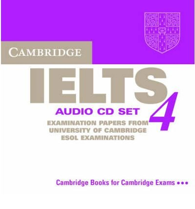 Download Cambridge IELTS 4 Audio CD Set (2 CDs): Leve 4: Examination Papers from University of Cambridge ESOL Examinations (Ielts Practice Tests) (CD-Audio) - Common pdf