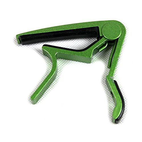 Acoustic Guitar Capo String Capo - Electric Acoustic Guitar Capo Bass Violin Ukulele Capo Single-handed Tune Clamp Trigger - Material Metal - Classical Guitar Capo - National Mall Harbor