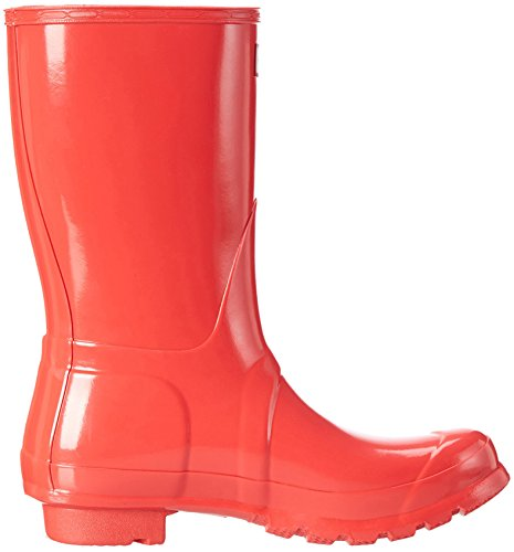 Hunter Womens Original Short Gloss Rain Boots Bright Coral m9J6QPhW
