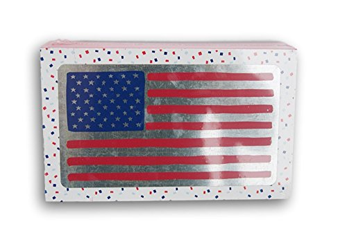 American Flag Box Sign - 8 x 5 x 2 inches