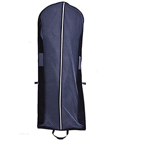 Dobelove wedding dress travel carry cover superb for Wedding dress travel bag