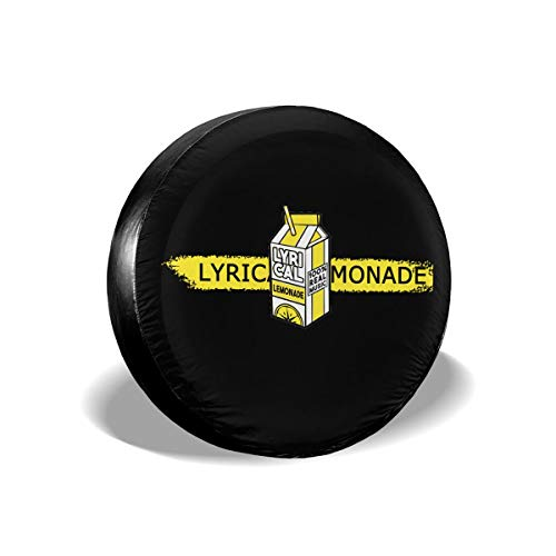 SimonaDnch Lyrical Lemonade Waterproof/Windproof Spare Tire Cover Wheel Covers for All Cars